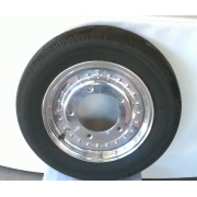 "Bubble Fronts wheels and tyres - 15""x 4"" NEW (5 x 205) Set of 2"