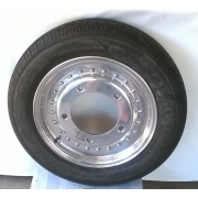 """Erco Bubble Front wheels and tyres - 15"""" x 4"""" (5 x 205) Set of 2"""