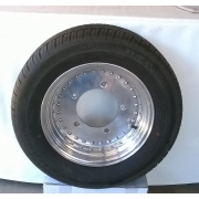 """Erco wheels and tyres - 15"""" x 6"""" (5 x 205) Set of 2"""