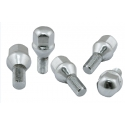 Chrome Lug Nuts - 12mm (Set of 5) - 1 set per wheel