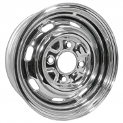 "Chrome Replacement Rims (15"" x 5.5"") 4 x 130"