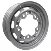 "Silver Replacement Steel Rims (15"" x 4.5"") 5 x 205"