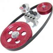 Serpentine pulley kit - Red