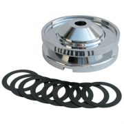 CB Alternator Pulley - Polished Billet