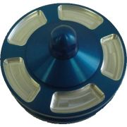 Jaycee Billet alternator pulley - blue