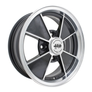 "BRM Gloss Black Only - (4 x 130) - 15"" x 5.5"" - a beautiful looking wheel"
