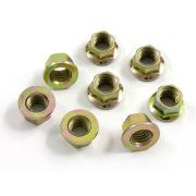 Exhaust nuts Flanged (per nut) - 8 x 10mm - Super Small