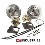 Rear Disc Kit - Holden/Ford - Late (Long Spline) - 5 x 120 and 5 x 114.3