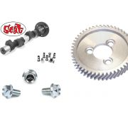 Kit - SCAT C Series Camshaft, Gear, Lifter and bolts