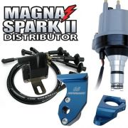 Magnaspark II™ Premium Ready-to-run Kit - Blue (Compact coil)