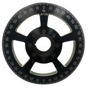 Jaycee Degree pulley Black - 7""