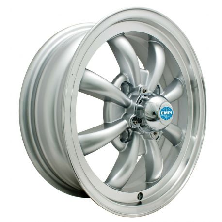 8 Spoke - (4 x 130) - Silver finish