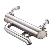 Superflow Extreme Lowered Muffler for Beetle - 1956-1977