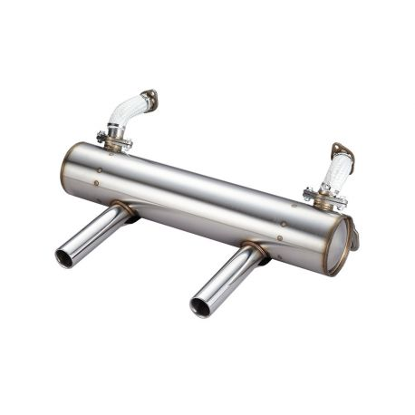 Superflow Extreme Lowered Exhaust System - Beetle, Karmann Ghia 50/35