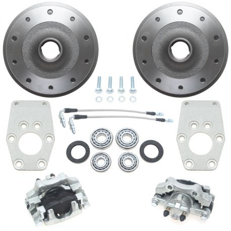 King & Link Pin - 5 x 205 - Front Disc Kit -Stock/Drop Spindles
