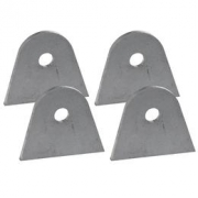 """Steel tabs for various applications , many different styles , price is """"from"""" price."""
