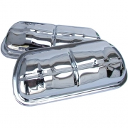 Chrome Plated Valve Covers - set of 2