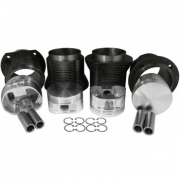 94 X 82 - FORGED JE DRAG RACE PISTON AND LONG CYLINDER KIT