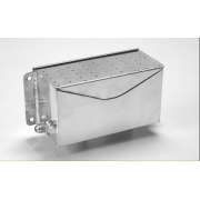 Breather Box - Aluminium - 50 mm deep with either 8 or 10 fitting's