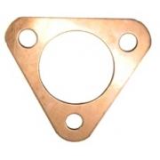 Copper 3 bolt re-usuable flange gasket - Fits popular small flange