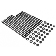 8mm Cro-moly head stud kit (Scat) - includes all nuts and washers