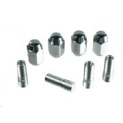 Chrome Stud & Nut Kit (Set of 4) - 1 set per wheel