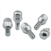 Chrome Lug Nuts - 12mm (Set of 5) - 1 set per wheel
