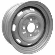 "Silver Replacement Rims (15"" x 4.5"") 4 x 130"
