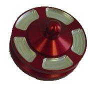 Jaycee Billet alternator pulley - red