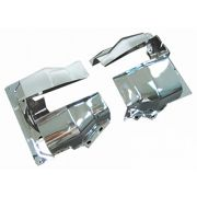 Cylinder Covers Dual Port heads - chrome (per pair)