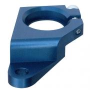 Billet Distributor Clamp - Blue