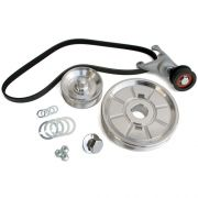 CB Serpentine Belt System with O.E. Style Pulley - Polished