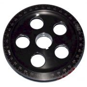 SCAT Anodised Crank Pulley - Black