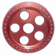 SCAT Anodised Crank Pulley - Red - 7""