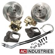 Rear Disc Kit - Holden/Ford - Early (Short Spline) - 5 x 120 and 5 x 114.3