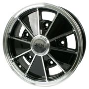 "BRM Gloss Black - (5 x 205) - 15"" x 5"" a great looking wheel"
