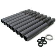 JayCee Leak proof push rod tubes - Gun metal Grey