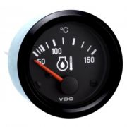 VDO Oil Temp Gauge - (includes sender but without any wiring)