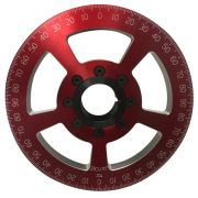 Jaycee Degree pulley Red - 7""