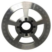 "Jaycee Degree pulley Silver - 7"""