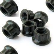Exhaust nut - 12 point Flange 8mm x 10mm- Grade 8(per nut)