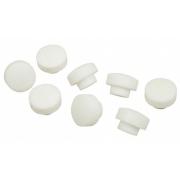 Teflon buttons