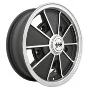 BRM Flat/Gloss Black - (5 x 205)
