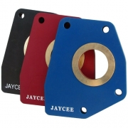 Spring Plate Retainers - Red (sold in pairs)