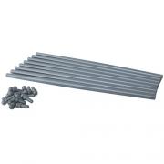 Push Rods - Manton Chromoly Dual Tapered Push Rods