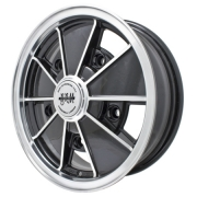 "BRM Gloss Black Only - (5 x 112) - 15"" x 5.5"""